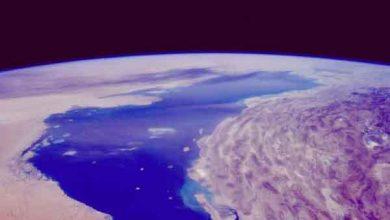 جزیره ای به وسعت بریتانیا در اعماق خلیج فارس