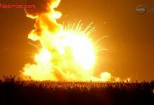 Photo of انفجار فضاپیمای ناسا پس از پرتاب  اکتبر ۲۰۱۴