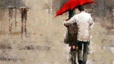 Photo of زیر چتری که جای یک نفرست تو بایست من زیر باران در کنارت قانعم …