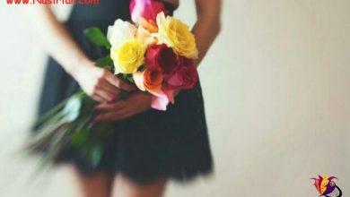 تصویر از افکار عاشقانه ام را جمع که میکنم  دسته گلی می شود شبیه تـــو برای تـــو