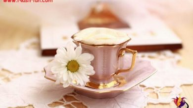 تصویر از تو را می خواهد  شِکَر نمی خواهد  قهوه ی خیال همیشه شیرین است