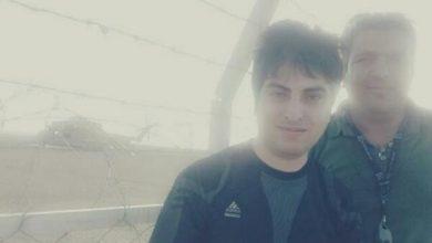 Photo of من و آقا رامین صحرای طبس محل سقوط بالگردهای آمریکایی