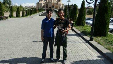 تصویر از من و دوست ژاپنی 👘