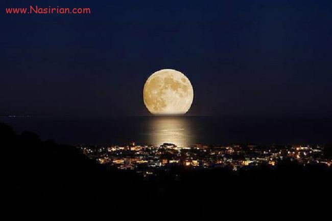 109221 - امشب ماه به نزدیک ترین فاصله خود با زمین میرسد