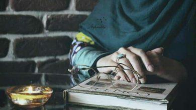 تصویر از زن که شاعر میشود …