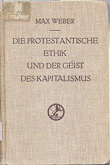 220px Die protestantische Ethik und der Geist des Kapitalismus original cover - کتاب اخلاق پروتستانی و روح سرمایهداری